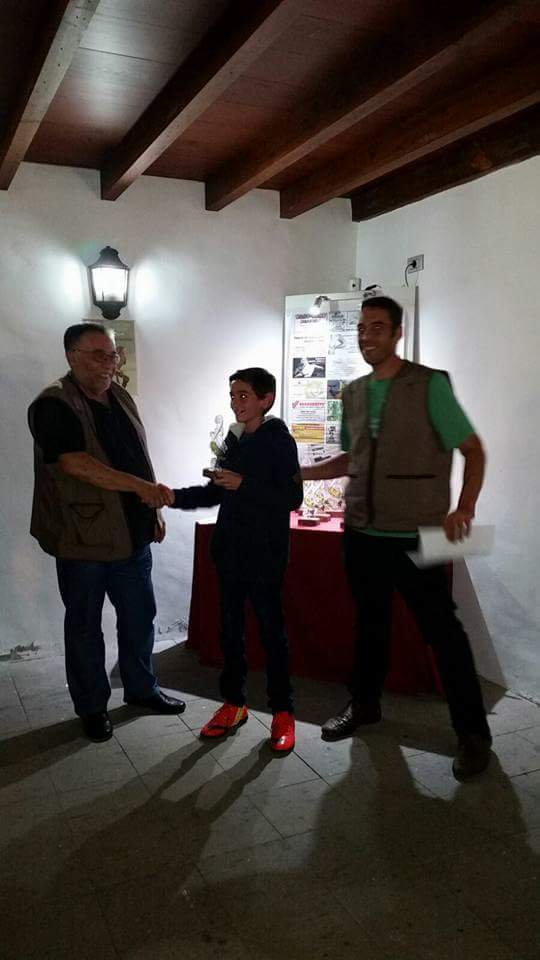 3º individual: Juan Pedro Afonso (90 Puntos)