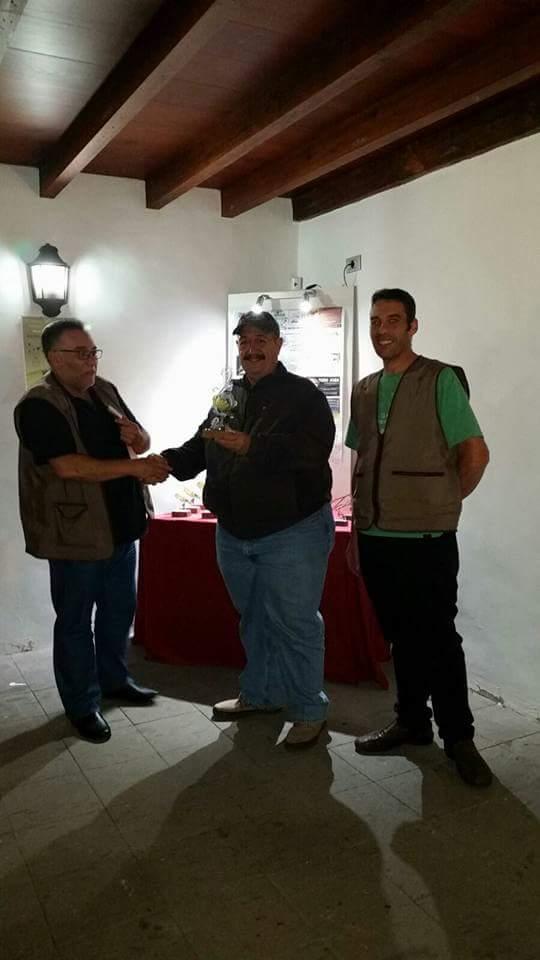 1º EQUIPOS: 362 Puntos Juan González Vera